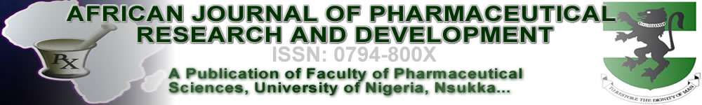 AFRICAN JOURNAL OF PHARMACEUTICAL RESEARCH AND DEVELOPMENT Logo